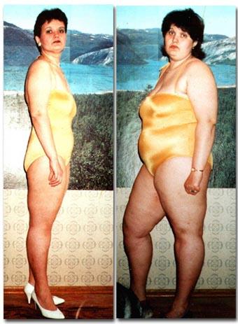 похудеть на 40 кг за 6 месяцев